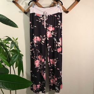 Other - Floral pajama lounge pants sz 3xl